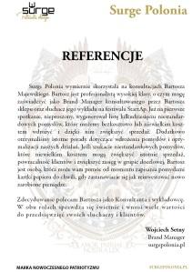 Referencja Surge Polonia
